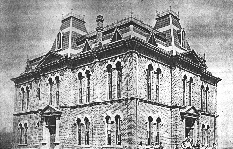 Brewster County Courthouse 1887